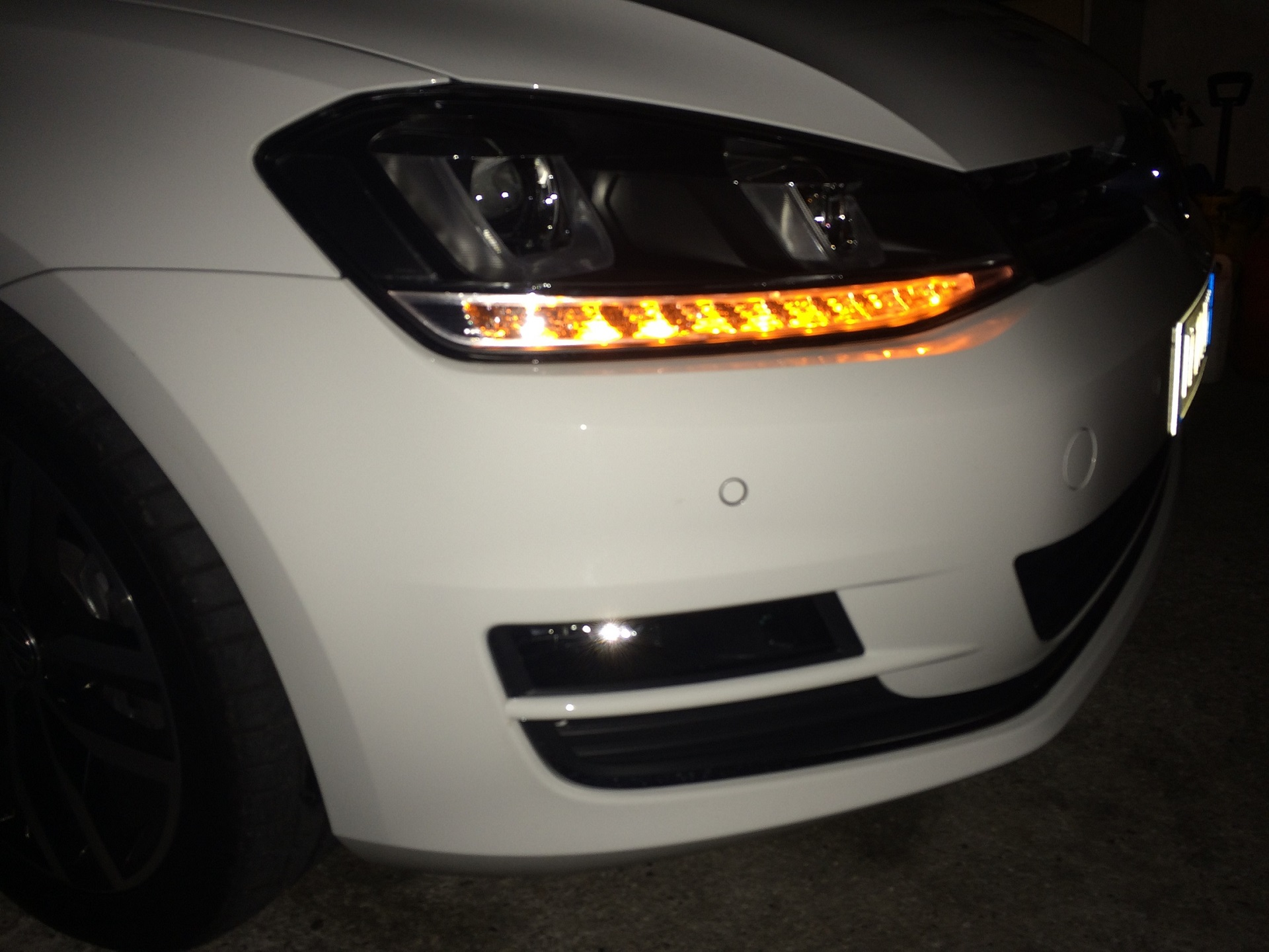 Plafoniera Targa Led Golf 7 : The vw golf community